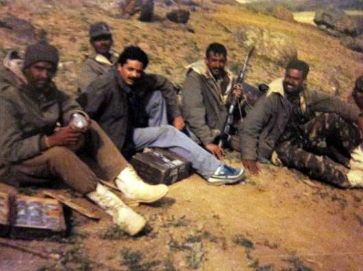 With soldiers returning from the recapture of Tiger Hill