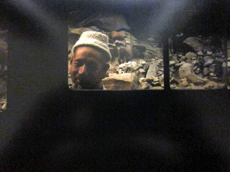 A wartime porter in Batalik