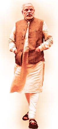 Narendra Modi – Sankarshan Thakur Narendra Modi Standing Photo