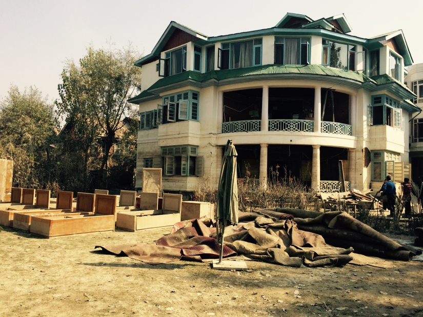 Cuckoo Wazir's sabred mansion in Rajbagh, Srinagar