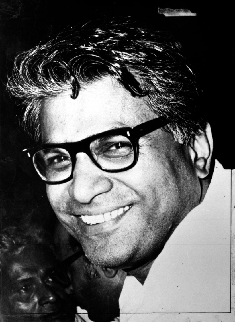 George Fernandes, Photo : Copy negative, Date : 15.9.82